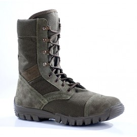 """Russian leather tactical BOOTS """"TROPIK"""" olive 3351"""