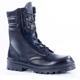 """Russian leather warm winter tactical Assault BOOTS """"OMON"""" 700"""
