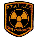Russian AIRSOFT Exclusion Zone STALKER sleeve patch 106