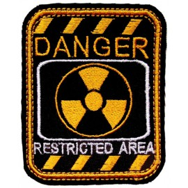 """Russian AIRSOFT """"DANGER - Restricted Area"""" Stalker patch 112"""
