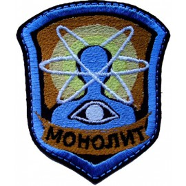 Russian airsoft MONOLITH patch from STALKER 115