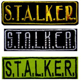 Russian AIRSOFT 3 STALKER stripes patches 117