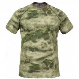 """Russian tactical anatomical T-shirt """"GYURZA"""" – Moss FG"""