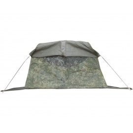 Bag bivouac with a camouflage cover