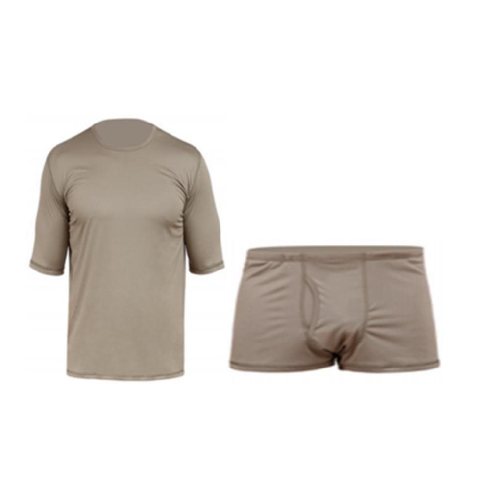 Russian moisture-absorbing thermal underwear short (T-shirt and shorts) BTK
