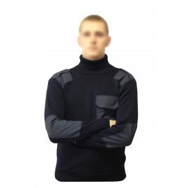 Russian military jacket long neck Vodolazka sweater