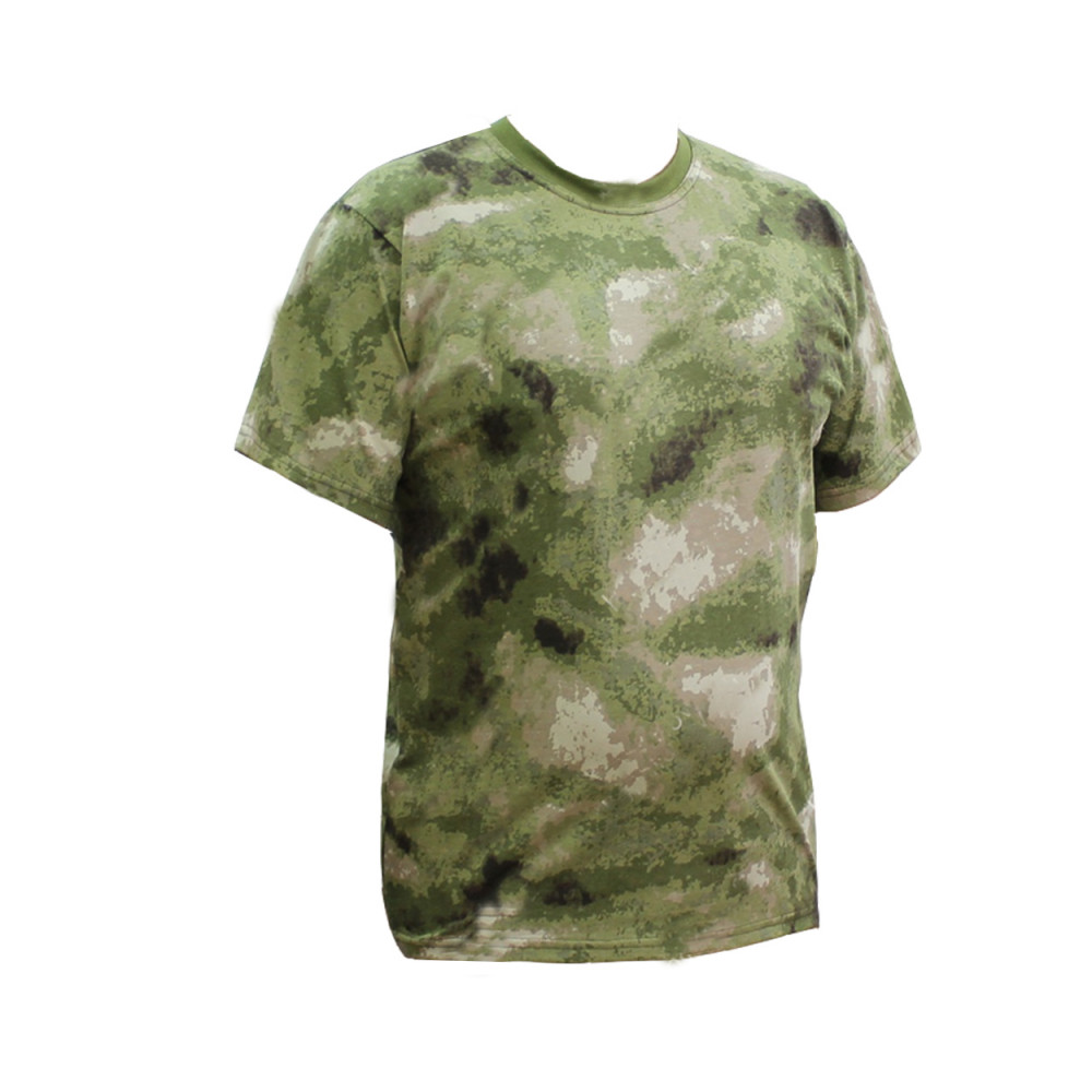 Moss military t-shirt moss pattern