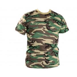 Military T-shirt Green NATO pattern
