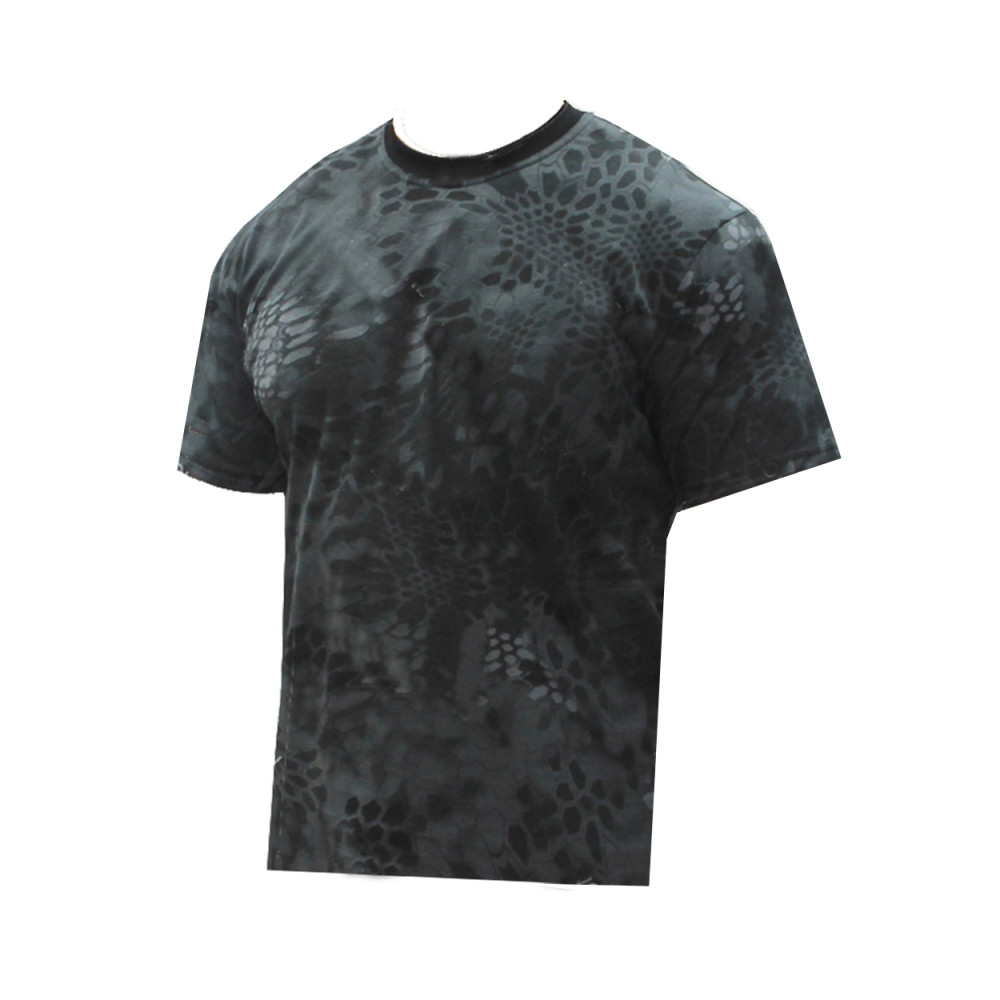 T-shirt Camo Python Black pattern