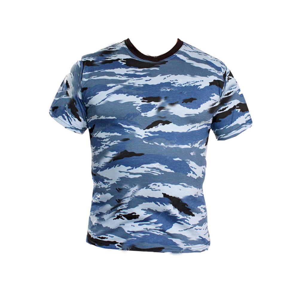 T-shirt Kulirka gray Reed pattern