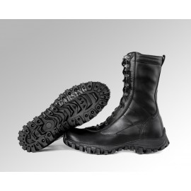 """Russian tactical high ankle boots GARSING 2110 """"BLACK WOLF FLEECE"""""""