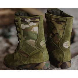 "Russian tactical boots army GARSING 0108 MO ""TACTICS LUX CAMO MULTI"""