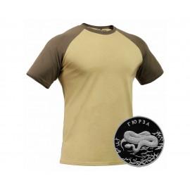 "Russian tactical anatomical khaki T-shirt ""GIURZ"" – GORKA X"