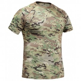 "Russian tactical anatomical T-shirt ""GYURZA"" – multicam"