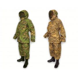 Russian Frog camo masking uniform Partizan 2 sided reversible Ratnik suit