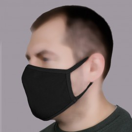 Bars Unisex Protective reusable handmade Double layer Knitwear Face Mask (4 Colors)