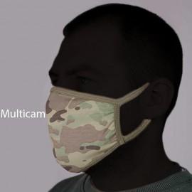 Set of 5 Tactical Protective Face Masks Knitwear Сamo BARS