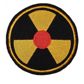 Russian Airsoft Nuclear Radiation Symbol Chernobyl patch 97