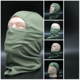 Storm airsoft / ski balaclava universal olive face mask