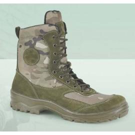 Assault tactical leather boots LYNX MULTICAM camo