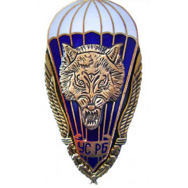 Russian SPETSNAZ special badge with WOLF