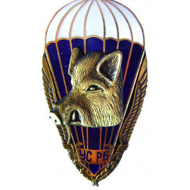 Russian SPETSNAZ special badge with BOAR