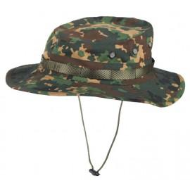 Fracture camo Panama boonie hat izlom rip-stop Russian cap