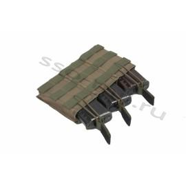 3 AKM or 3 AK Russian equipment MOLLE Pouch SPOSN SSO airsoft