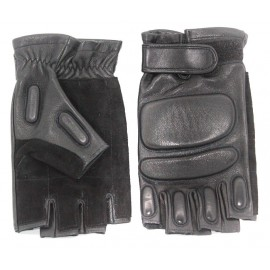 Russian leather Special force Gloves with fist protection