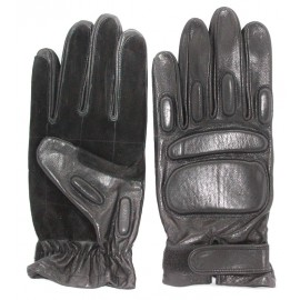 Russian winter leather Special force Gloves with fist protection