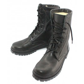 Russian Military winter Leather BOOTS with Fur