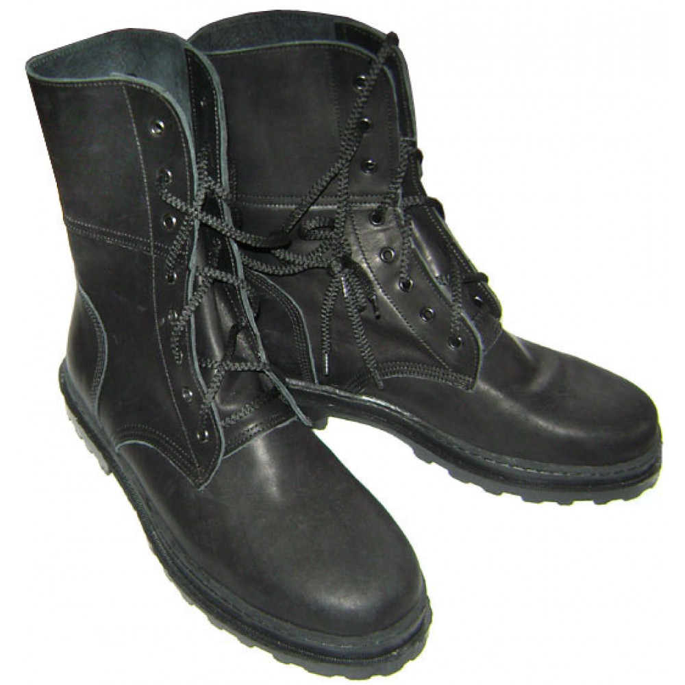 Russian Ministry of Emergency Situations winter leather boots
