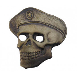 Russian Special Forces SPETSNAZ Badge SKULL in BERET