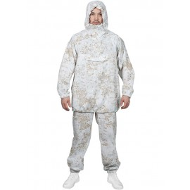 White masking suit Snipers MPA-43 SNOW winter camo