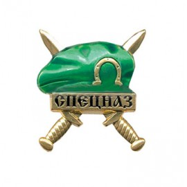 Russian Army badge green beret Frontier Guards Spetsnaz