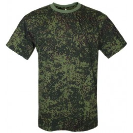 Russian Army digital camouflage military T-Shirt green