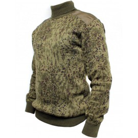 Russian Army digital camo winter knitted woolen sweater
