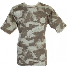 """Tactical Russian military camouflage T-Shirt """"Sand"""" pattern"""