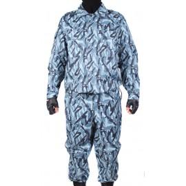 "Russian tactical Summer airsoft uniform ""Shadow-2"" gray camo"
