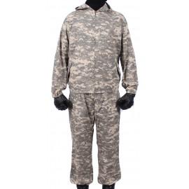"KLM Sniper tactical Camo uniform on zipper ""PIXEL DESERT"" pattern BARS"