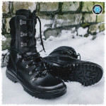 Russian tactical warm winter Assault leather BOOTS FORESTER T 162