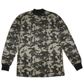 Russian Army military camo sweater warm golf